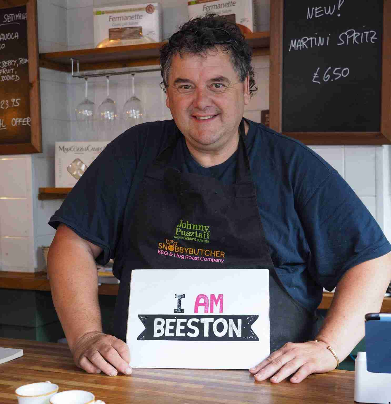 I Am Beeston: Johnny Pusztai -Butcher
