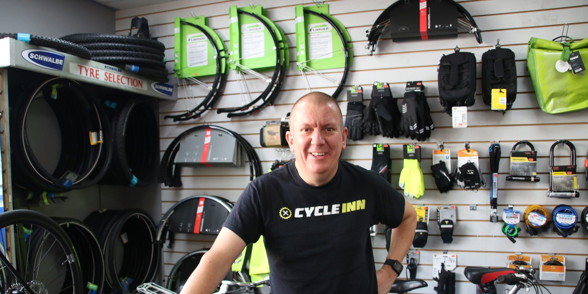 Jamie Ireland: owner, The Cycle Inn