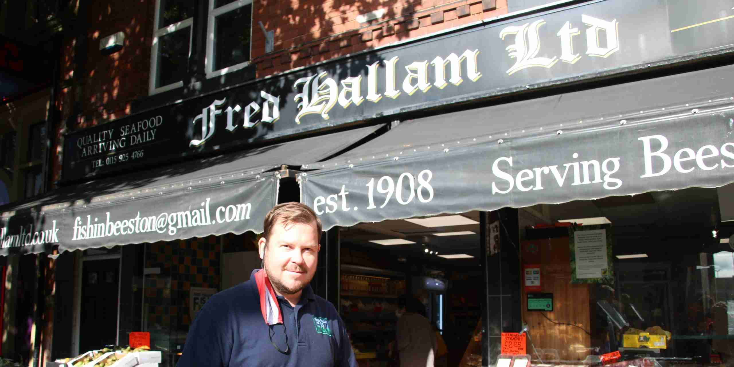 Andy Hallam: co-owner, Hallams Grocers